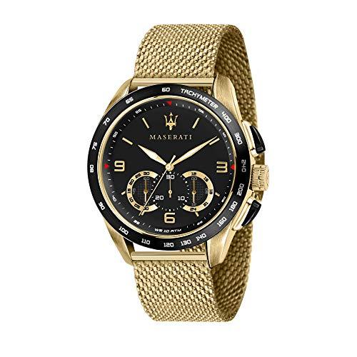 Maserati Reloj Analógico para Hombre de Cuarzo con Correa en Acero Inoxidable R8873612010