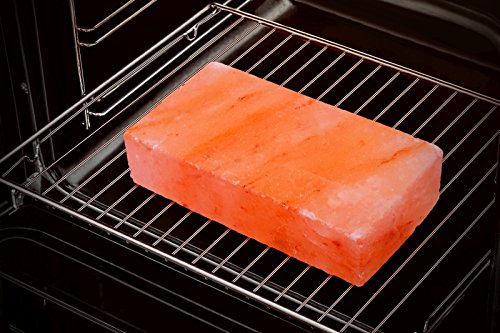 51XJqYolJkL - Gourmet Grill Salzstein - Himalaya* Salz- 20 x 10 x 2,5 cm von Salz Einkaufsparadies (aus der Salt Range Pakistan)
