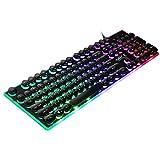 IMICE AK-700 USB Wired Gaming-Tastatur mit LED-Hintergrundbeleuchtung Keycaps Teclado Gamer Mechanische Tastatur für Overwatch LOL PC-Spiele