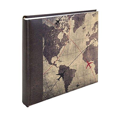 Kenro Holiday Series Memo Photo Album, Global Traveller Design, for 200 Photos 6x4' - HOL117