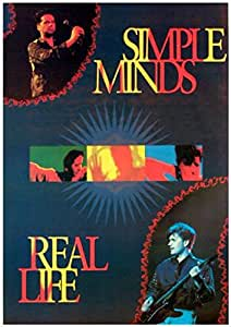 1art1® Simple Minds – Real Life Poster