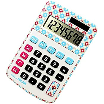 MILAN 40918BL Blister calculatrice 8 chiffres