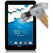 BeCool® - Protector de Pantalla Cristal Vidrio Templado Premium para Woxter QX 120, protege y se adapta a la perfección a tu Tablet, Ultra Resistente contra Arañazos y golpes, Dureza 9H