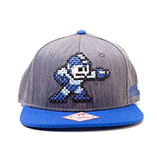 Megaman - Casquette - Pixel Megaman (B00GHYIBJU) | Amazon price tracker / tracking, Amazon price history charts, Amazon price watches, Amazon price drop alerts