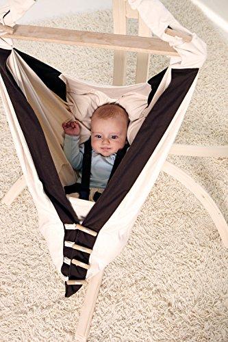 AMAZONAS Baby Hängematte Kangoo 70cm x 40cm bis 15 kg in Weiß - 8