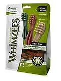 Whimzees Estrella para cepillos de dientes, tamaño mediano, 75 piezas