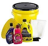 MEGUIARS MEGUIARS Autoshampoo & Grit Guard Wascheimer + Deckel & Waschhandschuh