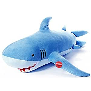 Niuniu Daddy 180cm Giant Shark Plush Super Large Stuffed