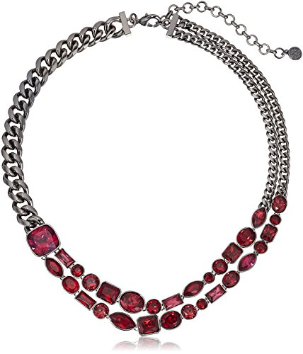 nicole-miller-mixed-cushion-collar-black-rhodium-fuchsia-and-ruby-necklace-17-4-extender