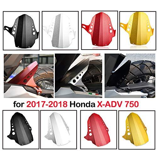 XX ecommerce motocicleta parte trasera para rueda Hugger carrocería barro jeringuillas Fender Protectora Faro para 2017-2018 H-o-n-d-a X de Adv xadv 750
