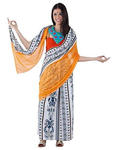 Imagen de disfraz hindú mujer  único, m