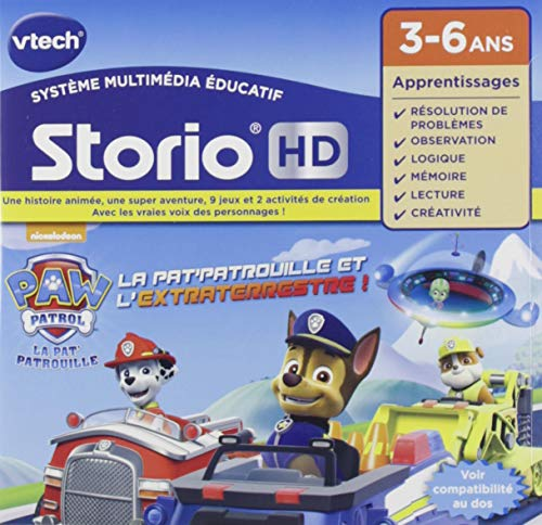 Vtech - 272005 Music for Storio Tablet - HD, Paw Patrol by Vtech