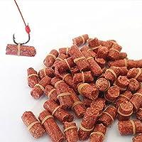 MGYAY - Señuelos de Pesca para césped de césped y Carpas, Color Rojo
