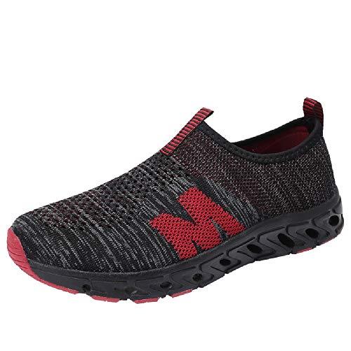 GongzhuMM Chaussures de Sports Homme Mocassins Homme Loafers Confortable Chaussures de Course Sneakers sans Lacets pour Étudiants 39-42.5 EU