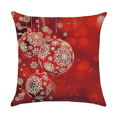Kissenbezug Btruely Kissenhülle Sitzkissen Kissen Cushion Cover 45x45cm Pillow Case Weihnachten Home Decoration (B)