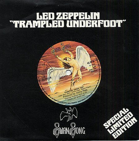 trampled under foot 45 rpm single