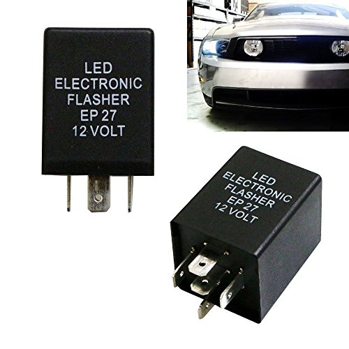 TOOGOO 5-Pin EP27 FL27 LED Blinkrelais Fix Fuer LED Blinkerlampen Hyper Flash