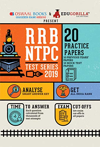 Oswaal RRB NTPC Test Series (For 2020 Exam)