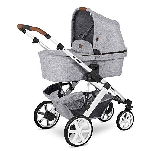 Kinderwagen Buggy Kombikinderwagen ABC DESIGN SALSA 4 Kollektion 2020 Kollektion 2020 + ORIGINAL ABC ZUBEHÖR (GRAPHIT-GREY, 2IN1)