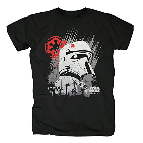 TSP Star Wars - Rouge One Shore Trooper T-Shirt Herren XL Schwarz