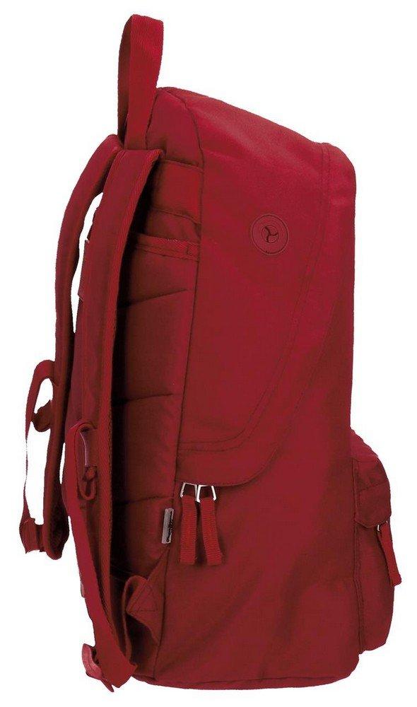 51XK%2B4QCRQL - Pepe Jeans Harlow Mochila Escolar, 42 cm, 22.79 litros, Rojo