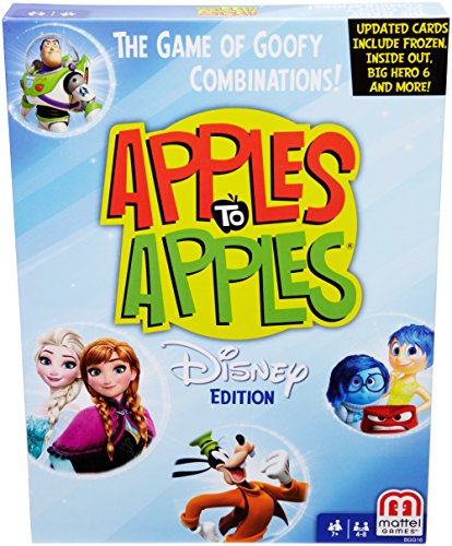 Disney Apples to Apples Card Game by Mattel