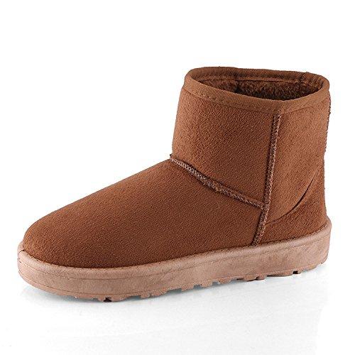Coton chaud épais de neige bottes femmes bottes bottes courtes short hiver télévision étudiants, cashmere chaleur épaisse