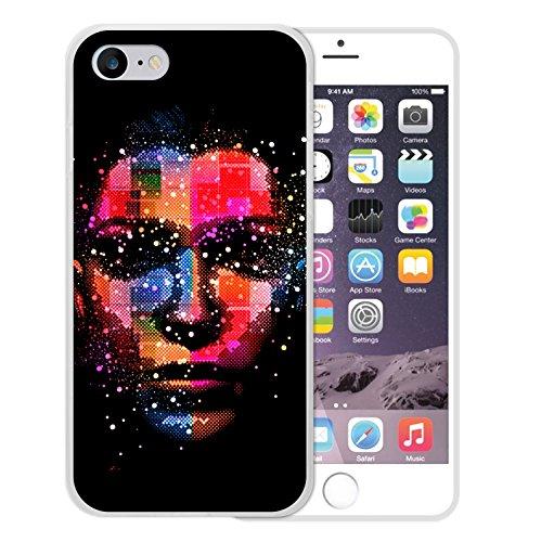 iPhone 7 Hülle, WoowCase Handyhülle Silikon für [ iPhone 7 ] Bang Boom Pow Handytasche Handy Cover Case Schutzhülle Flexible TPU - Transparent Housse Gel iPhone 7 Transparent D0576
