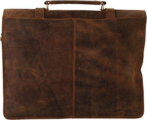Harolds Leder Mappe, Aktentasche, natur, leder 6 taupe