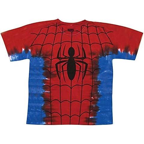 ImpactMerchandising Men's Spiderman Tie-Dye Costume