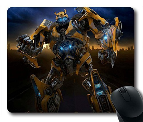 Gaming Mouse Pad, Transformers 2 Bumblebee Personalized MousePads Natural Eco Rubber Durable Design Computer Desk Stationery Accessories Gifts For Mouse Pads