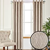 Best Home Fashion Blackout Curtains 100s - Qinuo Home Embossed Chenille Home Fashion Window Ready Review