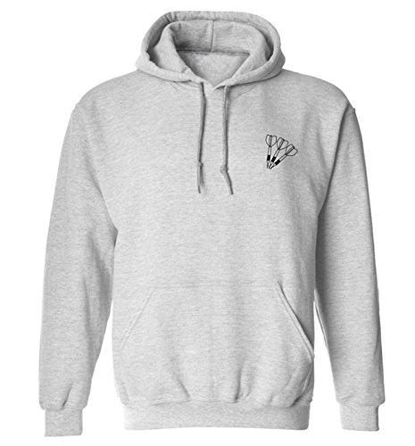 Womens Dart (Dart Taschen Hoodie XS–2X L Gr. Large, grau)