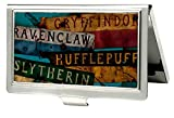 Harry Potter Fantasy Film Serie Hogwarts Häuser Visitenkartenhalter Harry Potter Small Mehrfarbig