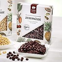 Sibirsche Zedernüsse in zarter Edelbitterschokolade Bio 70g
