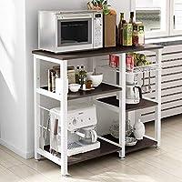 soges Microonde Scaffali Stazione di Lavoro Cucina Armadio per la Conservazione Mensola della Cucina W5S-SCH-SF
