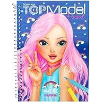 Depesche 7857 - Malbuch mit 3D Cover TOPModel, sortiert