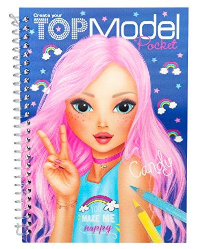 Top model ALBUM DE POCHE 3D violet