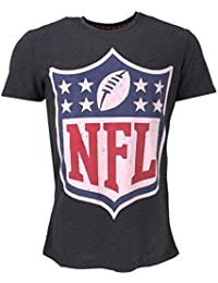 ebc2e09a4 NFL Logo T-Shirt Grey Official Licensed Sport