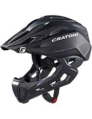 Cratoni C-Tracer–Casco de Maniac–Freeride S/M 52–56cm negro mate aprox. 320g bicicleta