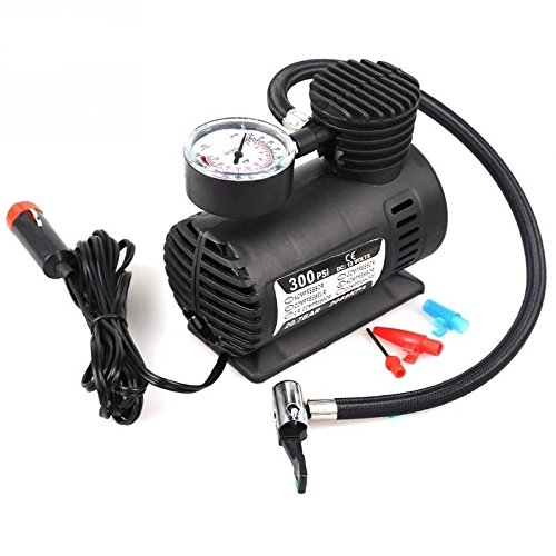 Abtrix Air Pump Compressor 12V Electric Car Bike Tyre Tire Inflator