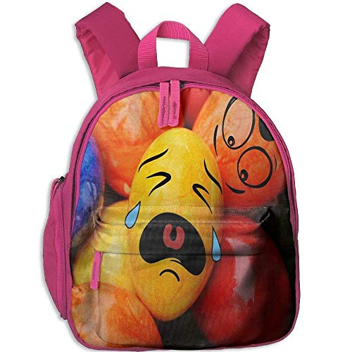 Funny Schoolbag Backpack Easter Crying Egg Toddler Kids Pre School Bag Cute 3D Print Children School Backpack - Egg Lego Easter