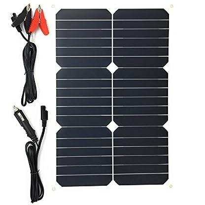 51XK7wHrV4L. SS416  - Giaride Cargador Solar Sunpower Panel Módulo Solar de 12V Baterías Cargador de Coche Portátil Fotovoltaico para Coches, Caravana, Moto, Bote, Barco