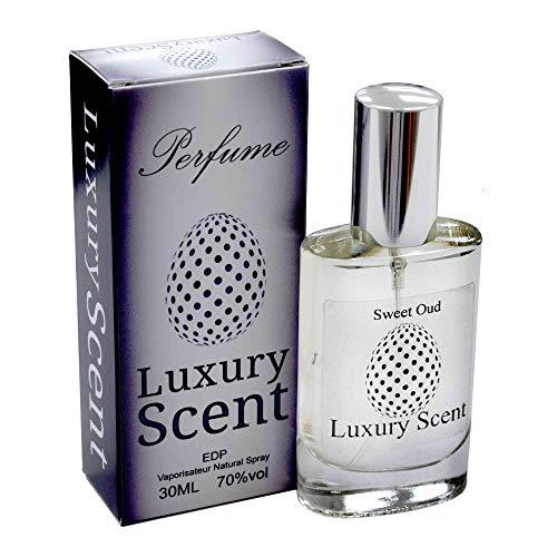 Sweet Oud EEU de parfum boisé Floral Parfum de qualité premium 30 ml Spray longue durée Sensational Parfum Unisexe avec pochette cadeau en velours Noir