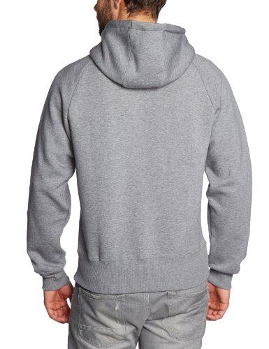 Nike–Felpa con cappuccio ad Hybrid FL po Hoody Multicolore (Lava Glow/Black-Hot Punch-White)