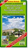 Radwander- und Wanderkarte Oberlausitzer Heide- und Teichlandschaft und Umgebung: Ausflüge im Biosphärenreservat zwischen Boxberg, Rothenburg, Niesky, ... und Bautzen. 1:50000 (Schöne Heimat)