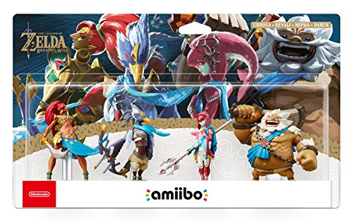 Nintendo Switch: Amiibo The Legend of Zelda: Breath of the Wild 4 Campioni