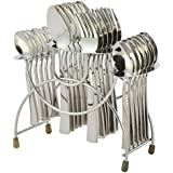 Shapes Gracia Stainless Steel 24 Pieces Cutlery Set With Stand