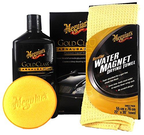 Meguiar's MEGUIARS Gold Class Premium Liquid Wax & Water Magnet Mikrofasertuch
