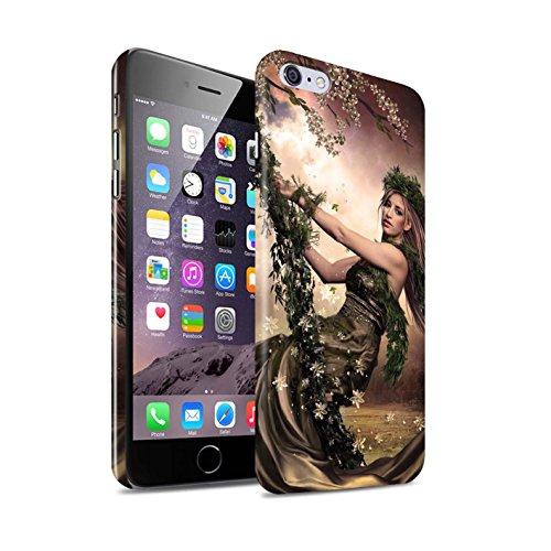 Officiel Elena Dudina Coque / Clipser Brillant Etui pour Apple iPhone 6S+/Plus / Bain Caché Design / Un avec la Nature Collection Balançoire Jardin